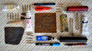 linogravure outils